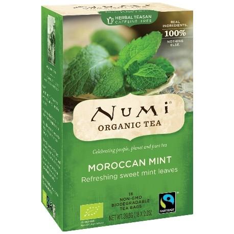 Herbata marokańska mięta MOROCCAN MINT 18 saszetek x 2,2 g