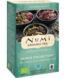 Numi's Collection Zestaw herbat BIO Numi Organic Tea (18 saszetek)