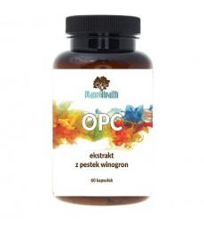 OPC polifenolowy ekstrakt z pestek winogron 60 kaps. (Oligomeryczne proantocyjanidyny) Planet Health