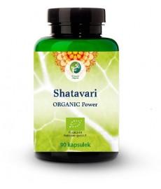 BIO Shatavari (Asparagus racemosus) Organic Power 90 kaps. Planet Organic