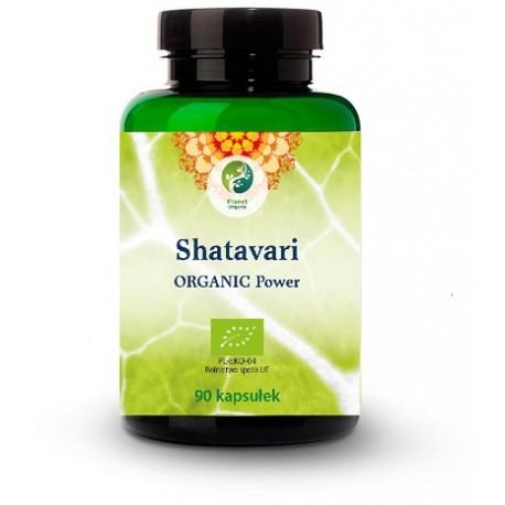 Shatavari (Asparagus racemosus) Organic Power 90 kaps. Planet Organic