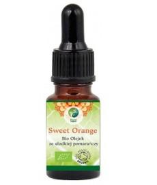 SWEET ORANGE Bio olejek ze słodkiej pomarańczy 10 ml (Citrus aurantium dulcis, Brazylia) Planet Organic