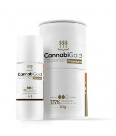 Olejek z konopi CBD 15% Premium 400 kropli CannabiGold