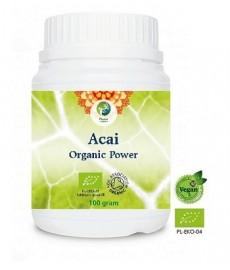 BIO ACAI (Euterpe Oleracea) Organic Power liofilizowany proszek 100 g Planet Organic,