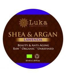 BIO masło SHEA z olejkiem arganowym i lawendą ( 50 ml) Luka Organic Cosmetics